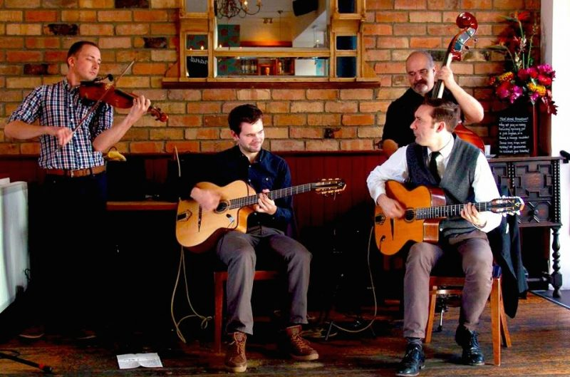 Gypsy Jazz wedding band based in Cheltenham