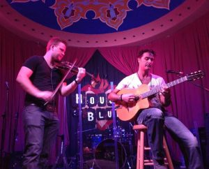 Gypsy Jazz and magic duo