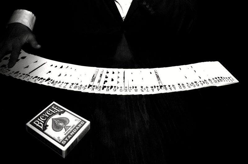 Card Magician in London